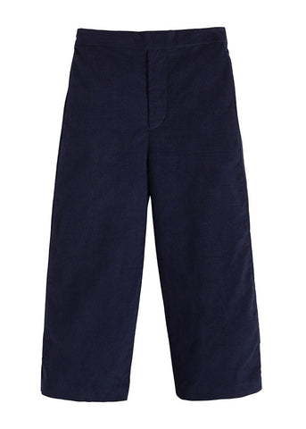 Pull on Corduroy Pant in Navy - Noa & Vivi Kids Apparel