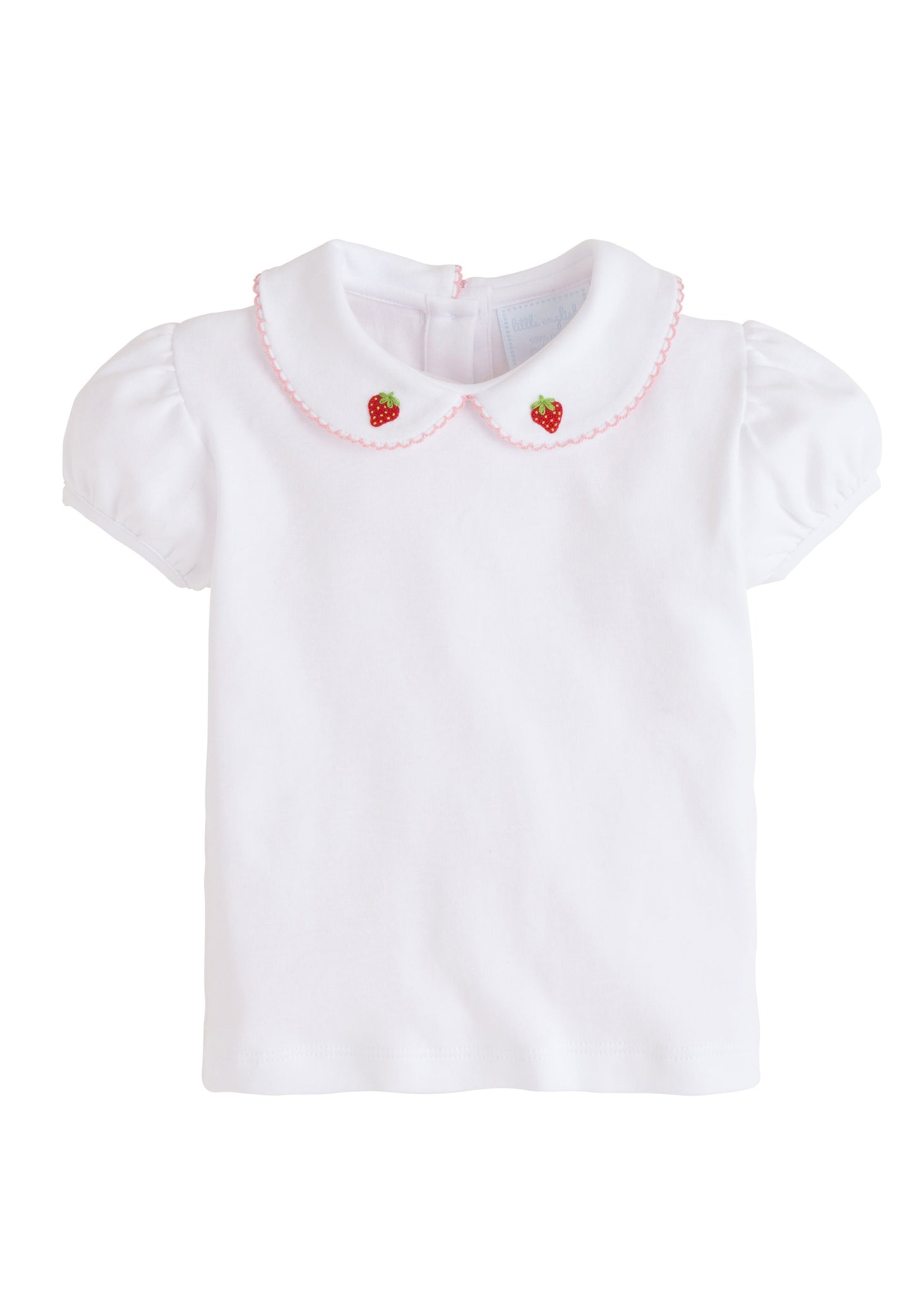 Strawberry Pinpoint Shirt