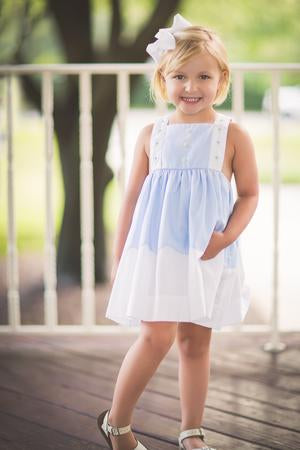 Parsons Pinafore - Noa & Vivi Kids Apparel