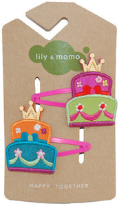 Princess Cake Hair Clip - Noa & Vivi Kids Apparel