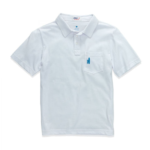 Original Polo in White - Noa & Vivi Kids Apparel