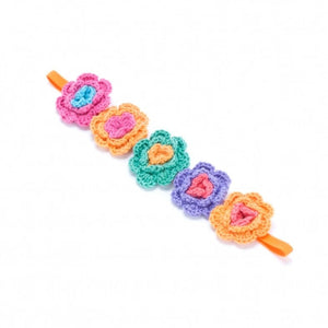 Crochet Flower Girls Headband - Noa & Vivi Kids Apparel