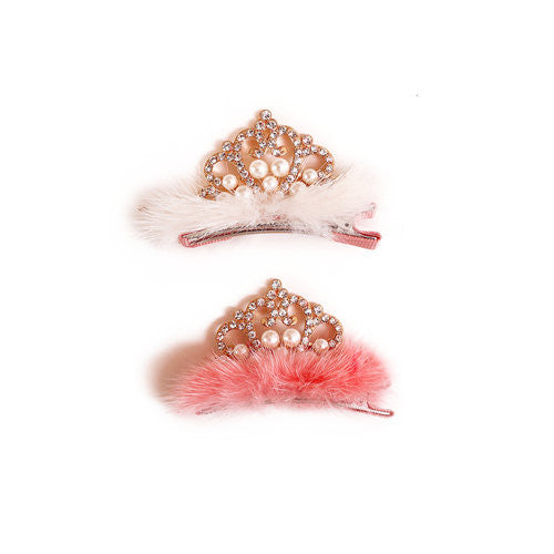 Furry Pearl Clip - Noa & Vivi Kids Apparel