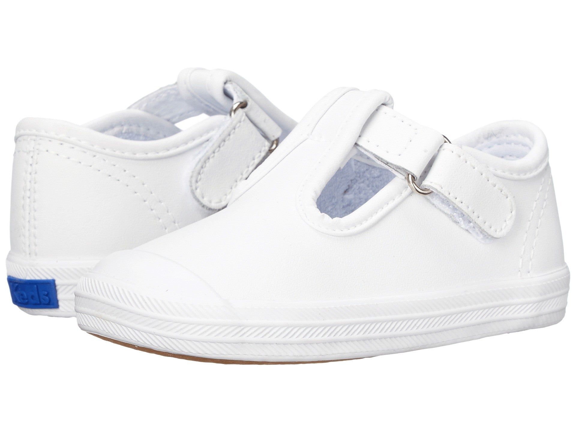 LAST ONE!!! Keds|T Strap in White| Toe Cap |Size 2 - Noa & Vivi Kids Apparel