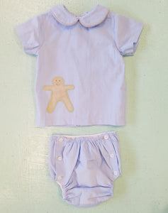 Gingerbread Boy Set - Noa & Vivi Kids Apparel