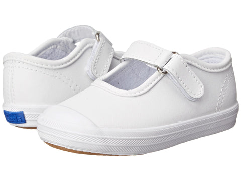 LAST ONE!!! Keds|Champion Toe Cap Mary Jane in White|Size 4 - Noa & Vivi Kids Apparel