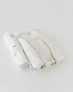 Deluxe Muslin Swaddle/2 pack - Noa & Vivi Kids Apparel