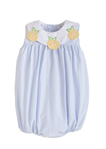 Lemon Bib Bubble - Noa & Vivi Kids Apparel