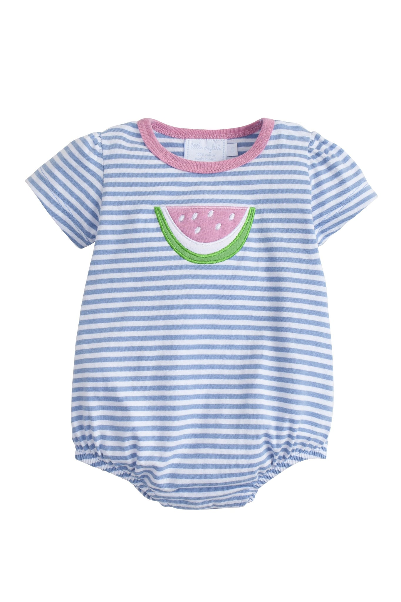 Little English Watermelon Bubble - Noa & Vivi Kids Apparel