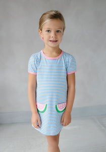 Little English Watermelon T-shirt Dress - Noa & Vivi Kids Apparel