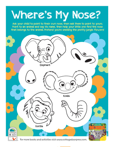 Free activity sheet: Noses