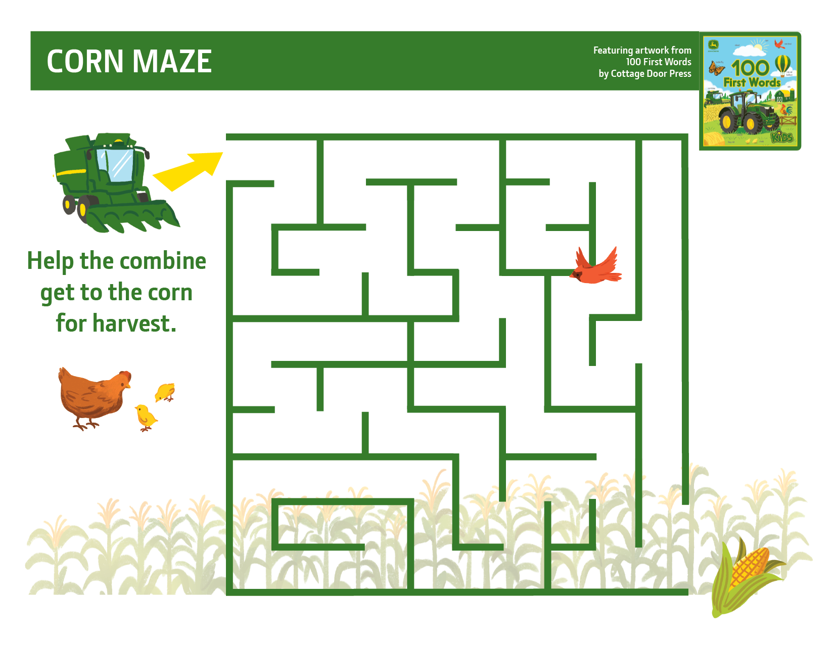 John Deere Corn Maze Activity