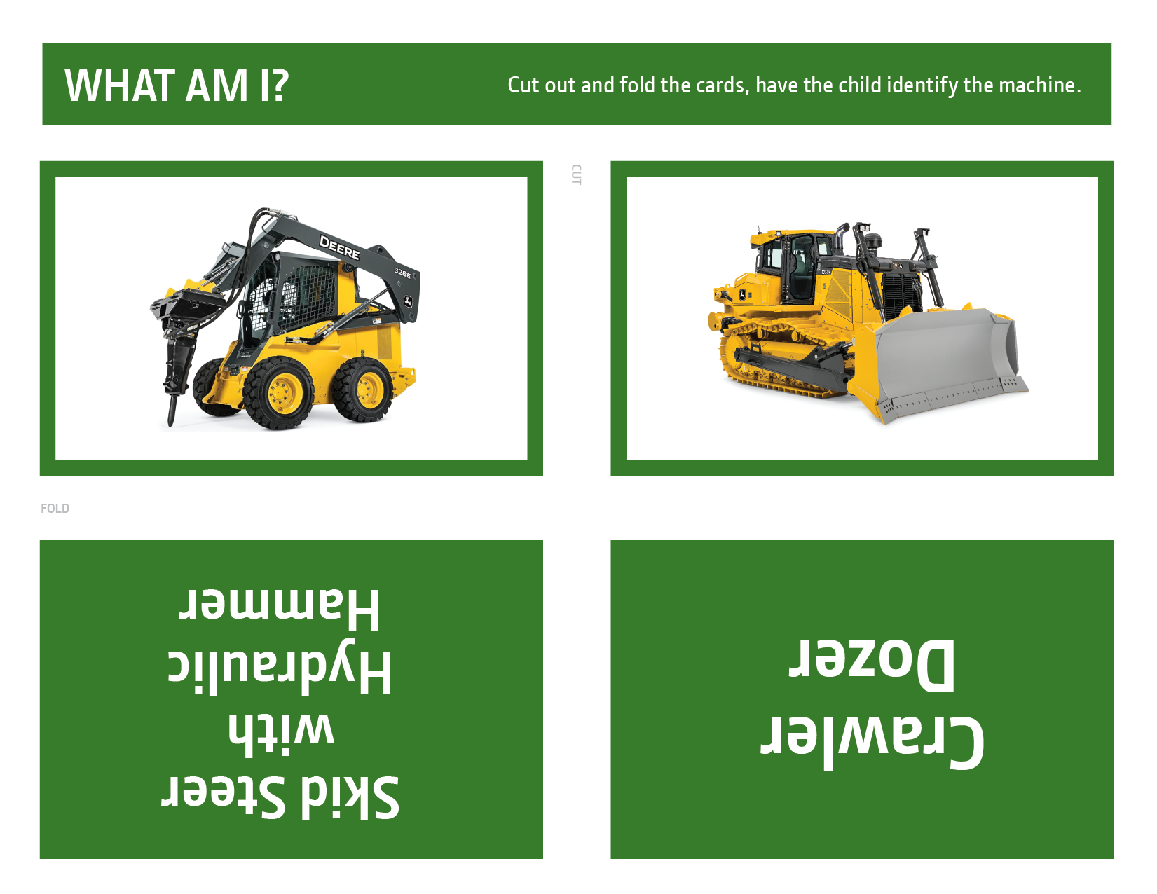 John Deere What Am I? Activity 4