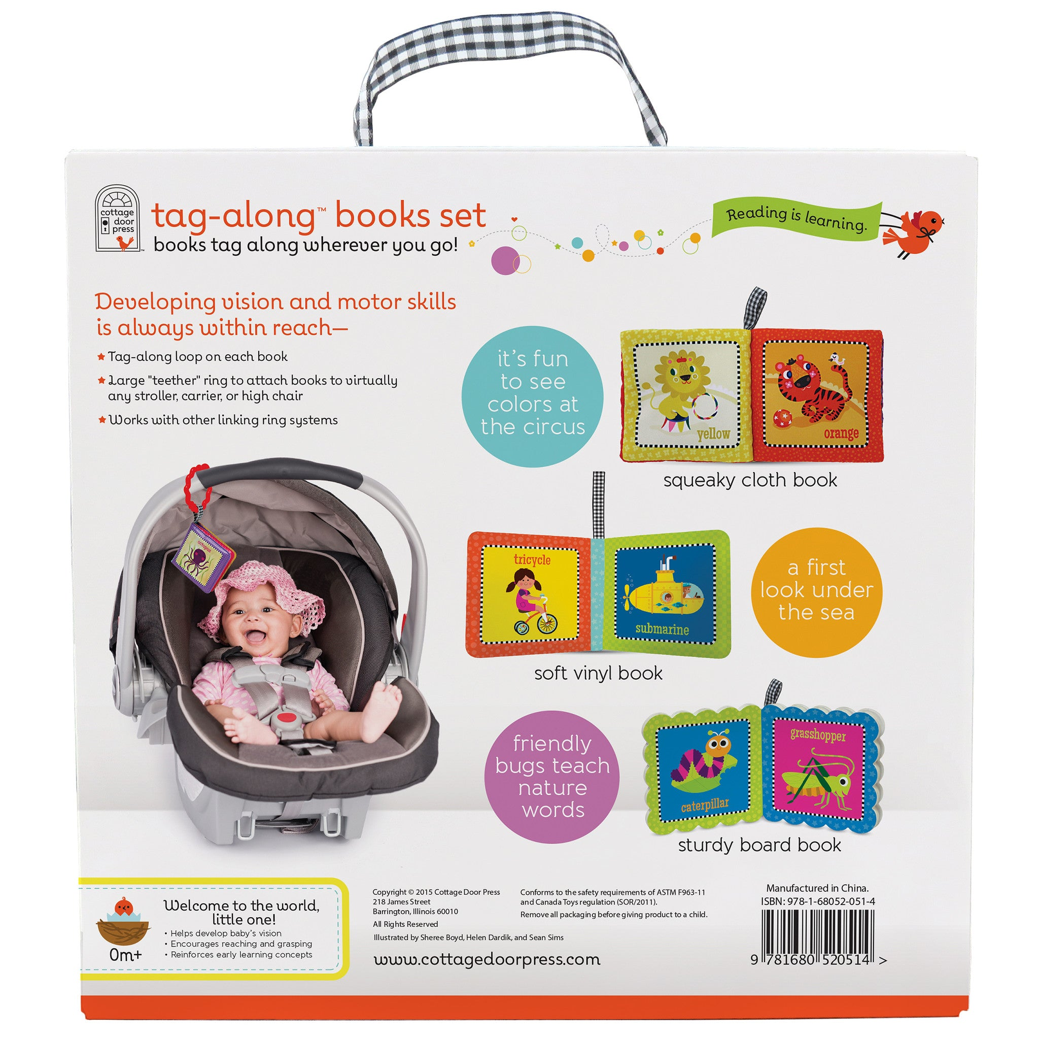 Tag Along™ Books Gift Set