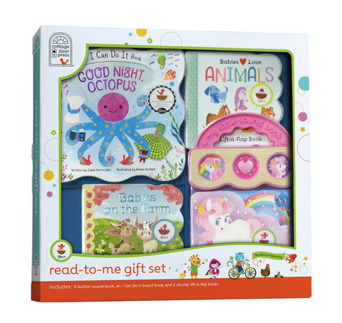 Read-to-Me Gift Set - Pink - Cottage Door Press
