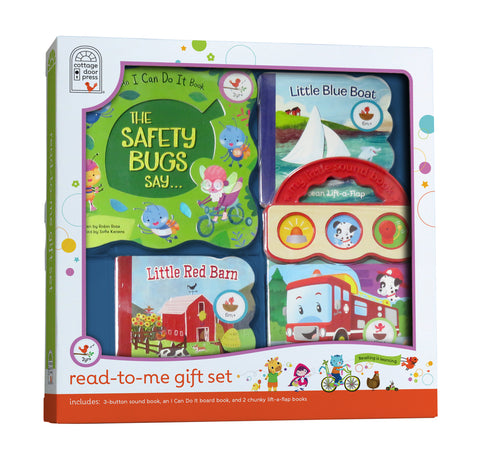 Read-to-Me Gift Set - Red