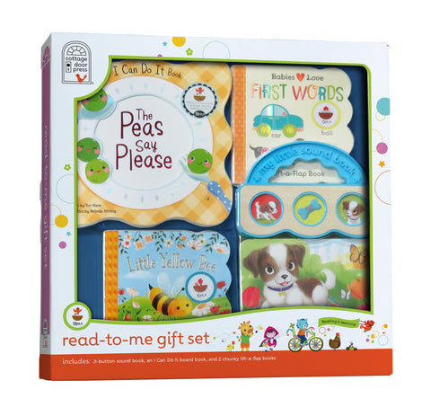 Read-to-Me Gift Set - Yellow - Cottage Door Press