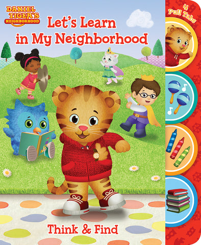 Daniel Tiger: Let's Learn in my Neighborhood - Cottage Door Press