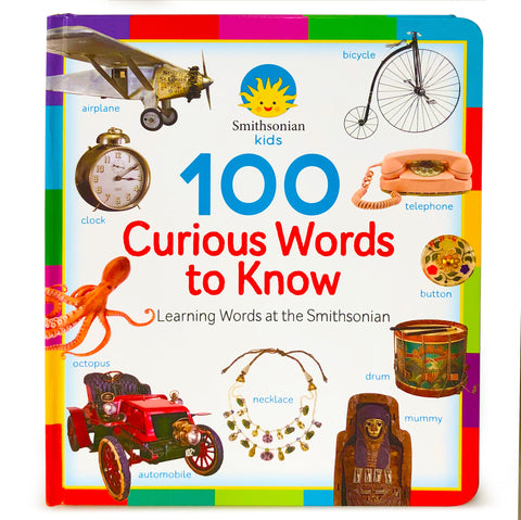 Smithsonian Kids: 100 Curious Words to Know - Cottage Door Press