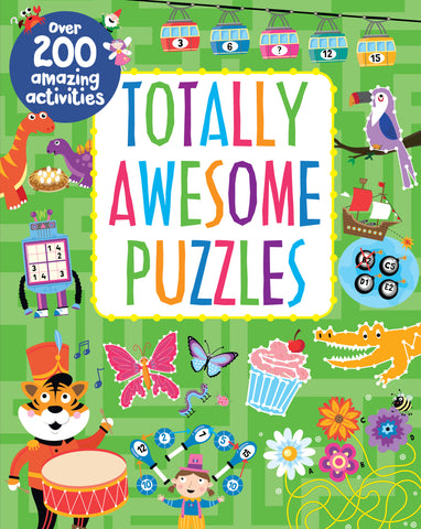 Totally Awesome Puzzles - Cottage Door Press