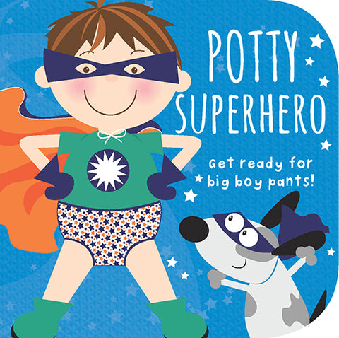 Potty Superhero (Boy) - Cottage Door Press