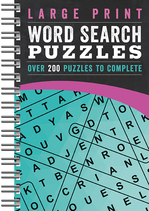Large Print Word Search |