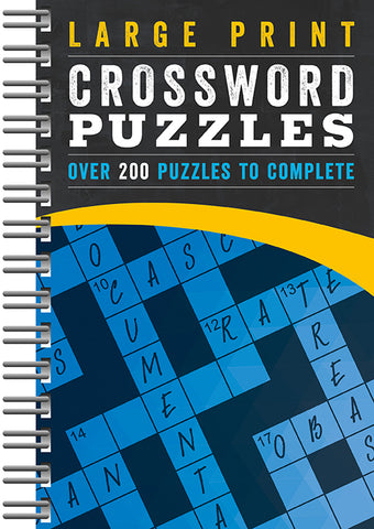 Large Print Crossword - Cottage Door Press