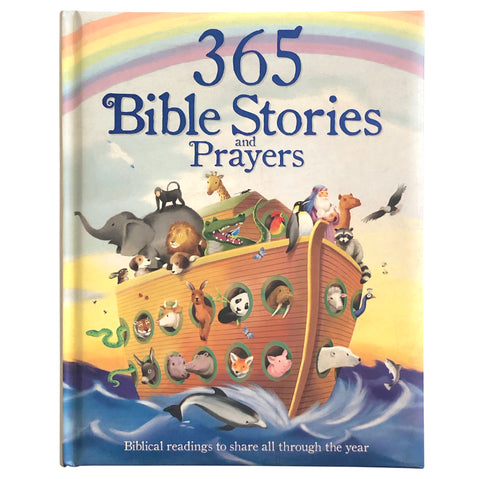 365 Bible Stories and Prayers - Cottage Door Press