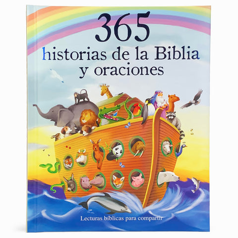 365 Historias de la Biblia y Oraciones (en español) - Cottage Door Press