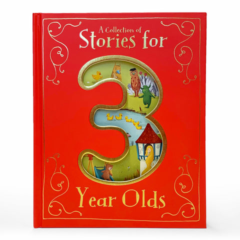 Collection of Stories for 3-Year-Olds - Cottage Door Press