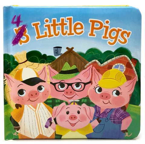 4 Little Pigs - Cottage Door Press