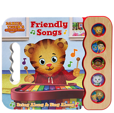 Daniel Tiger's Neighborhood: Friendly Songs - Cottage Door Press