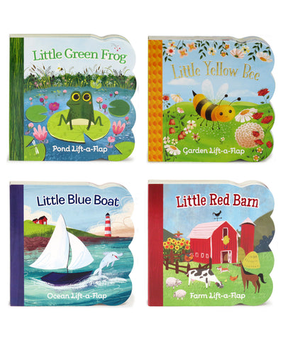 Nature Friends: 4 Pack - Lift-a-Flap Books - Cottage Door Press