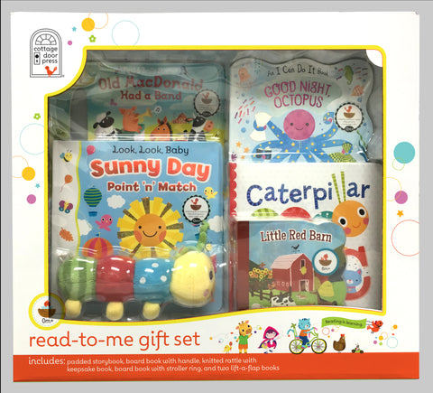 Read-to-Me Gift Set - 12m+ - Cottage Door Press