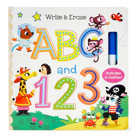 Write & Erase ABC and 123 - Cottage Door Press