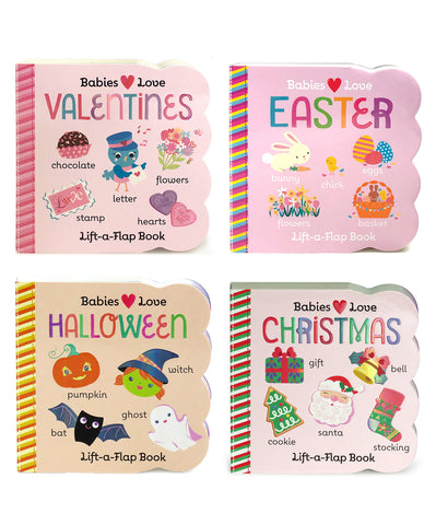 4 Pack - Holidays Lift-a-Flap Books - Cottage Door Press