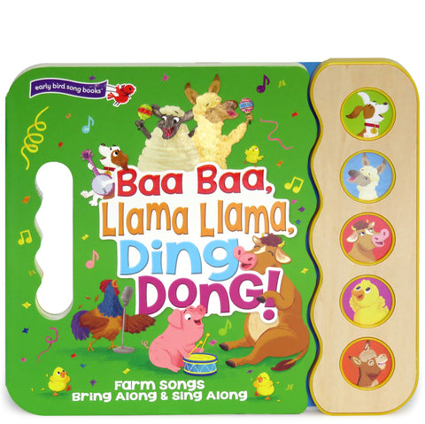 Baa Baa, Llama Llama, Ding Dong! - Cottage Door Press