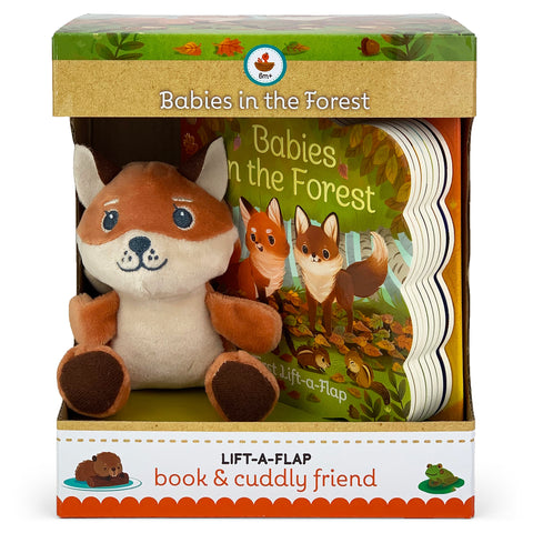 Babies In The Forest Book & Plush Gift Set