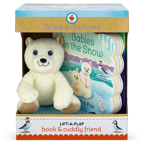 Babies In The Snow Book & Plush Gift Set