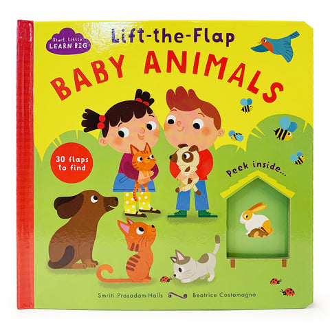 Lift-the-Flap Baby Animals - Cottage Door Press