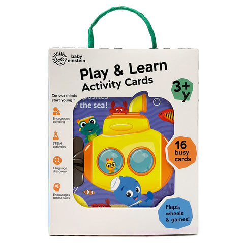 Baby Einstein™ Play & Learn Activity Cards - Cottage Door Press