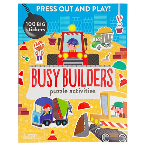 Press Out and Play! Busy Builders - Cottage Door Press