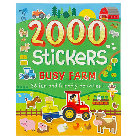 2000 Stickers Busy Farm - Cottage Door Press