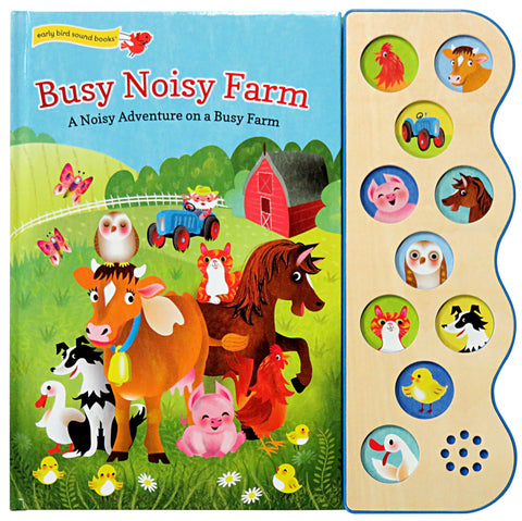 Busy Noisy Farm - Cottage Door Press, LLC - 1