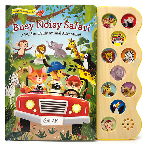 Busy Noisy Safari - Cottage Door Press