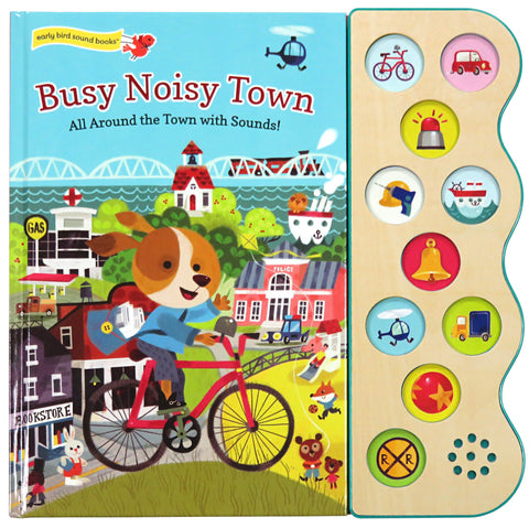 Busy Noisy Town - Cottage Door Press, LLC - 1