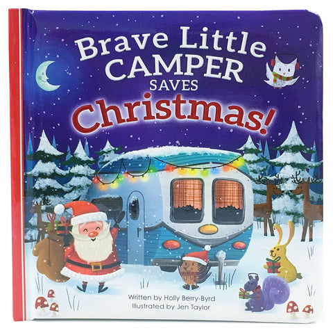 Brave Little Camper Saves Christmas