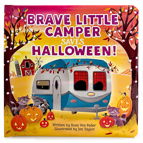 Brave Little Camper Saves Halloween - Cottage Door Press