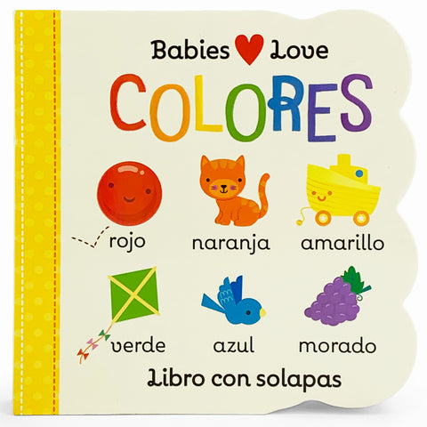 Colores (en español) - Cottage Door Press