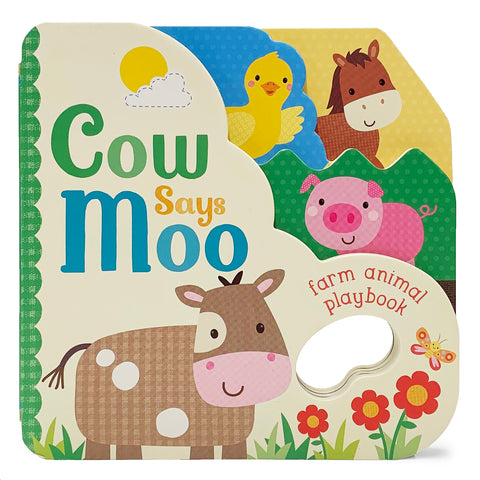 Cow Says Moo! - Cottage Door Press